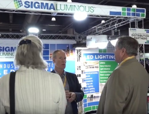 Sigma Luminous Lights Up Light Fair 2017!