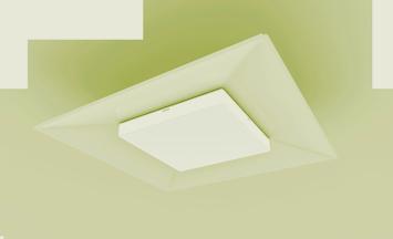 Yellow Troffer LED